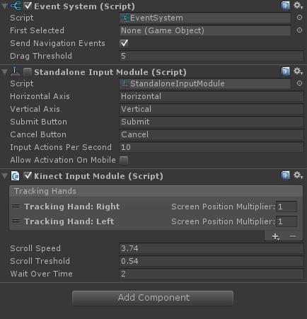 Kinect Hand Cursor for Unity3D – nevzatarman