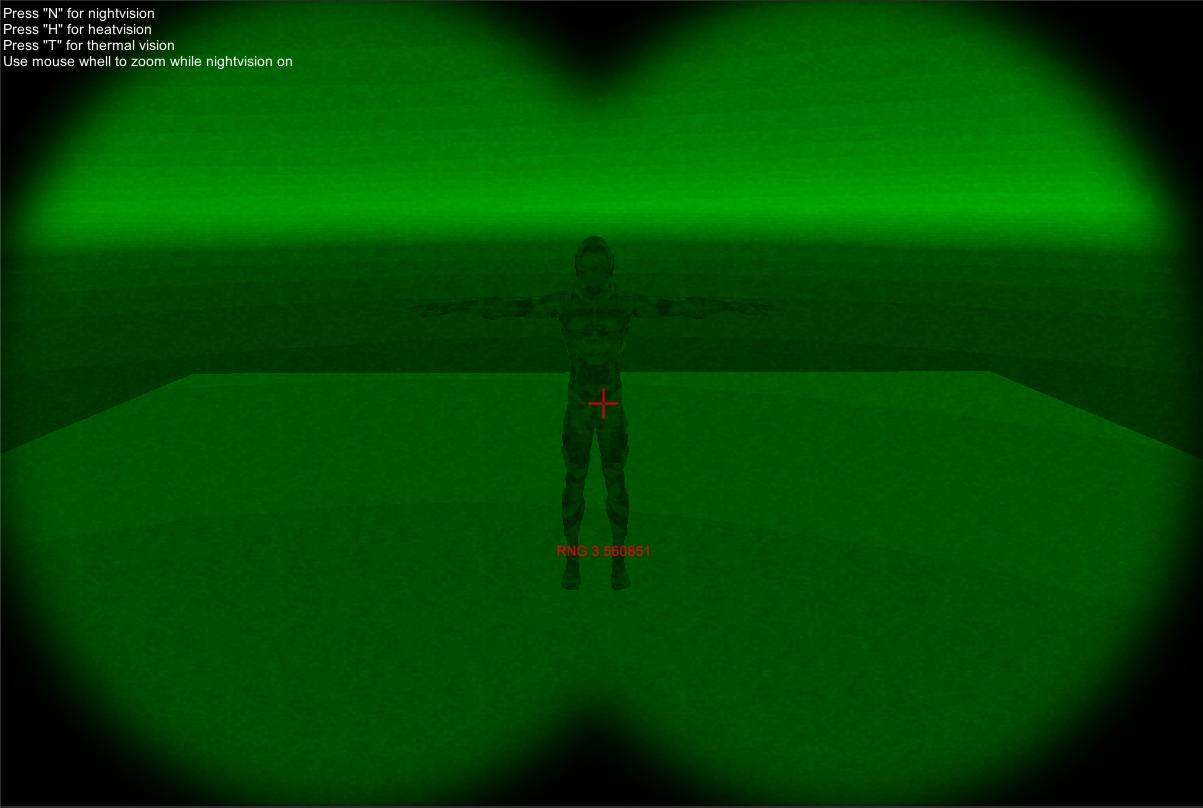 Unity3D Nightvision Shader – nevzatarman